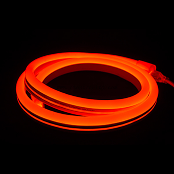 12V 24V Flexible LED Neon Rope Light Silicon Jacket Red
